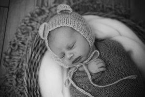 newborn estudio gorrito