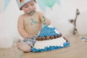 pastel un año bebe